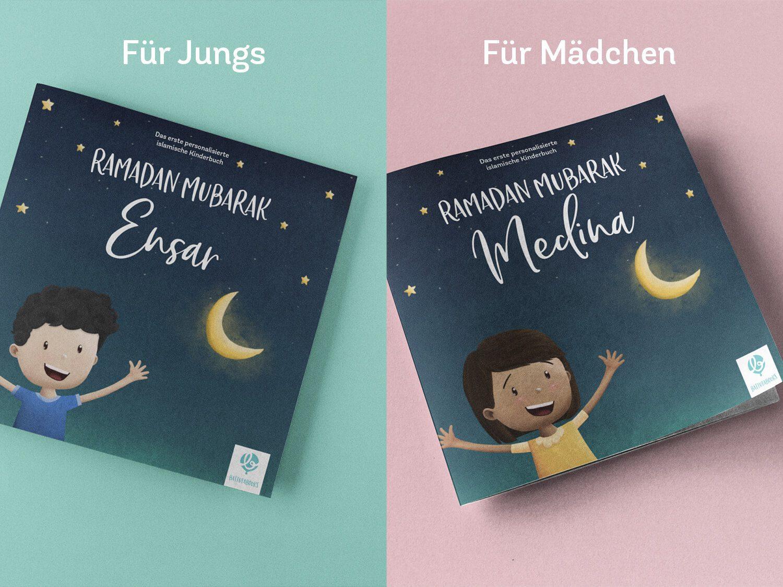 Personalisierte islamischer Kinderbücher für Mädchen und Jungen